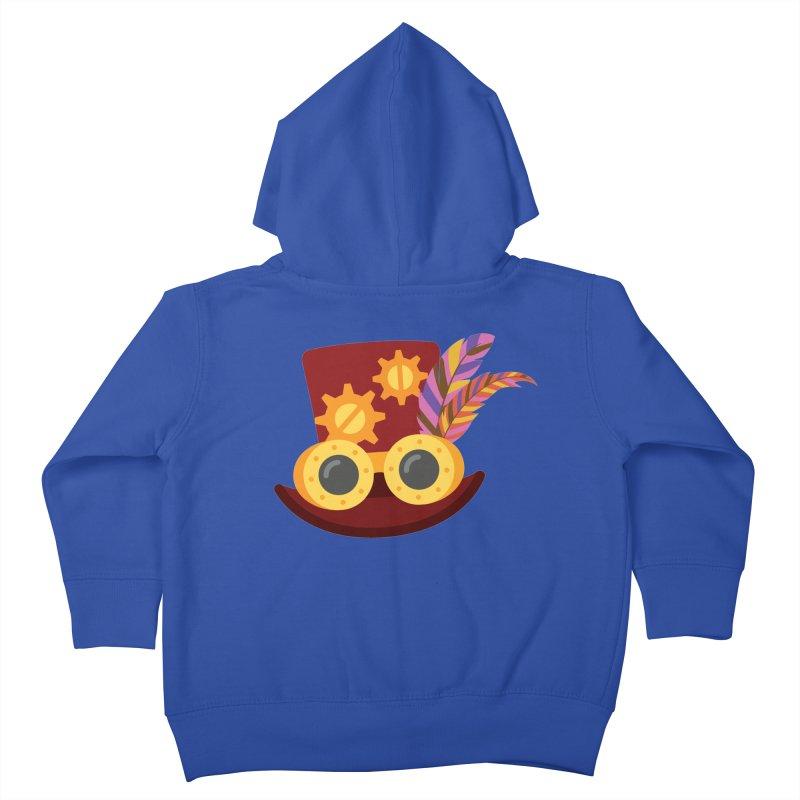 Steampunk Engineer Logo Kids Toddler Zip-Up Hoody by SteampunkEngineer's Shop