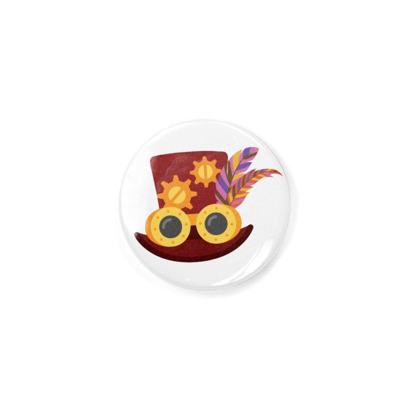 Steampunk Engineer Logo Accessories Button by SteampunkEngineer's Shop