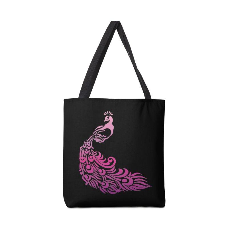 Purple Peacock Accessories Tote Bag Bag by SteampunkEngineer's Shop