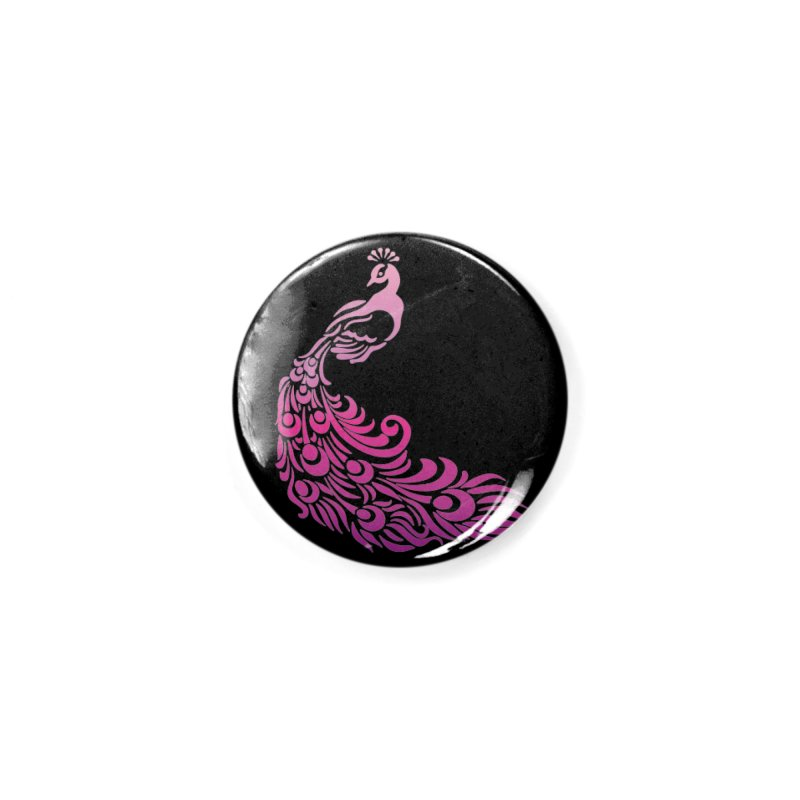 Purple Peacock Accessories Button by SteampunkEngineer's Shop