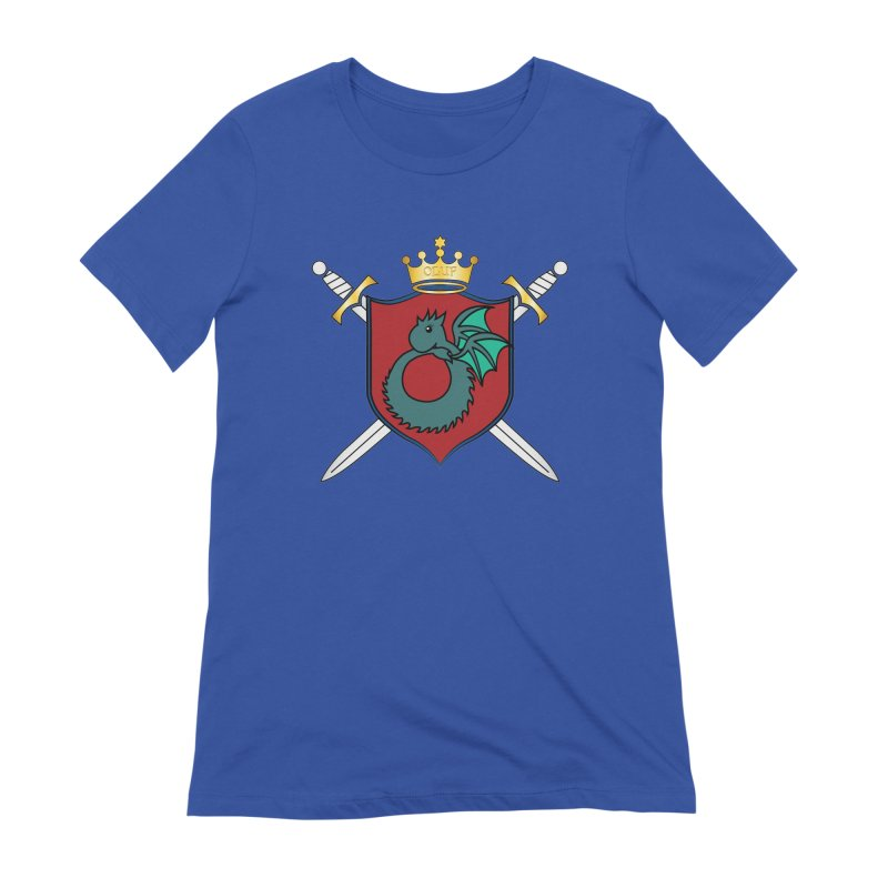 OLUF Coat of Arms - No Banner and Shoes Women's Extra Soft T-Shirt by SteampunkEngineer's Shop