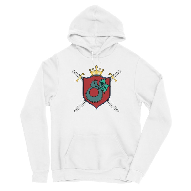 OLUF Coat of Arms - No Banner and Shoes Women's Sponge Fleece Pullover Hoody by SteampunkEngineer's Shop