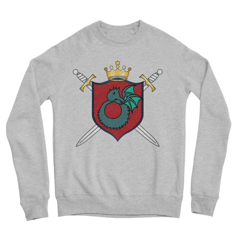 OLUF Coat of Arms - No Banner and Shoes Men's Sponge Fleece Sweatshirt by SteampunkEngineer's Shop