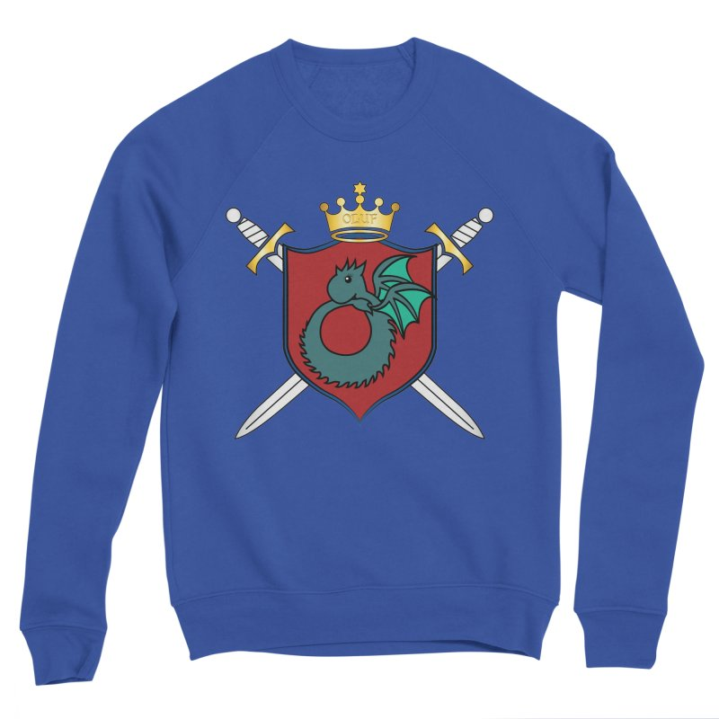 OLUF Coat of Arms - No Banner and Shoes Men's Sweatshirt by SteampunkEngineer's Shop