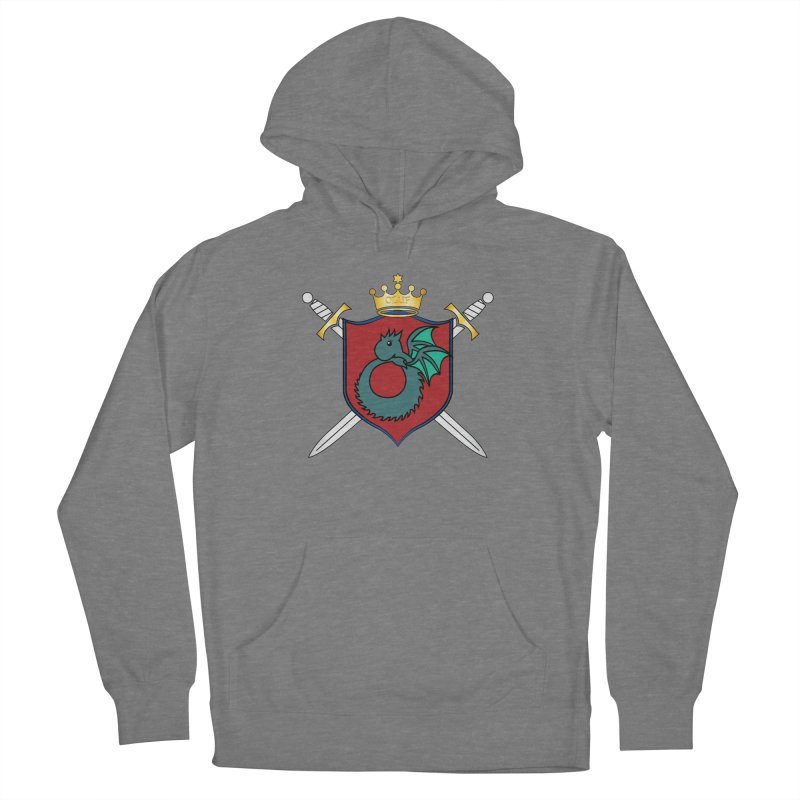 OLUF Coat of Arms - No Banner and Shoes Men's French Terry Pullover Hoody by SteampunkEngineer's Shop