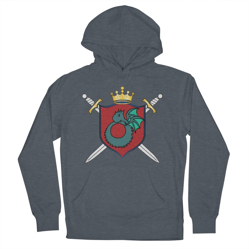 OLUF Coat of Arms - No Banner and Shoes Women's French Terry Pullover Hoody by SteampunkEngineer's Shop