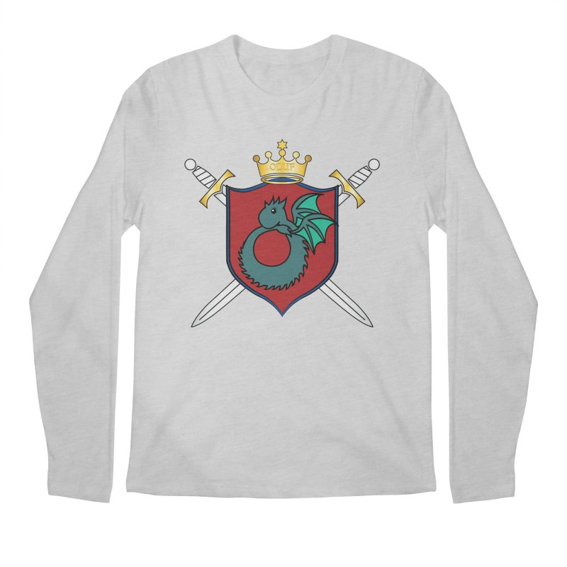 OLUF Coat of Arms - No Banner and Shoes Men's Regular Longsleeve T-Shirt by SteampunkEngineer's Shop