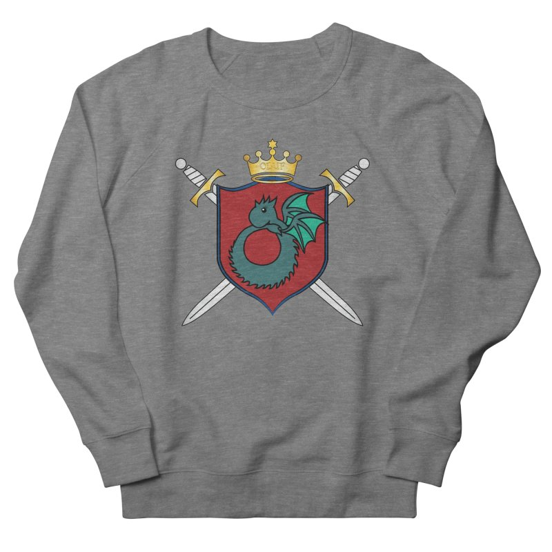 OLUF Coat of Arms - No Banner and Shoes Women's French Terry Sweatshirt by SteampunkEngineer's Shop