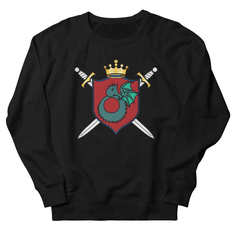 OLUF Coat of Arms - No Banner and Shoes Men's French Terry Sweatshirt by SteampunkEngineer's Shop