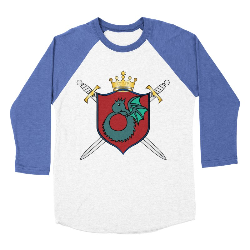 OLUF Coat of Arms - No Banner and Shoes Women's Baseball Triblend Longsleeve T-Shirt by SteampunkEngineer's Shop