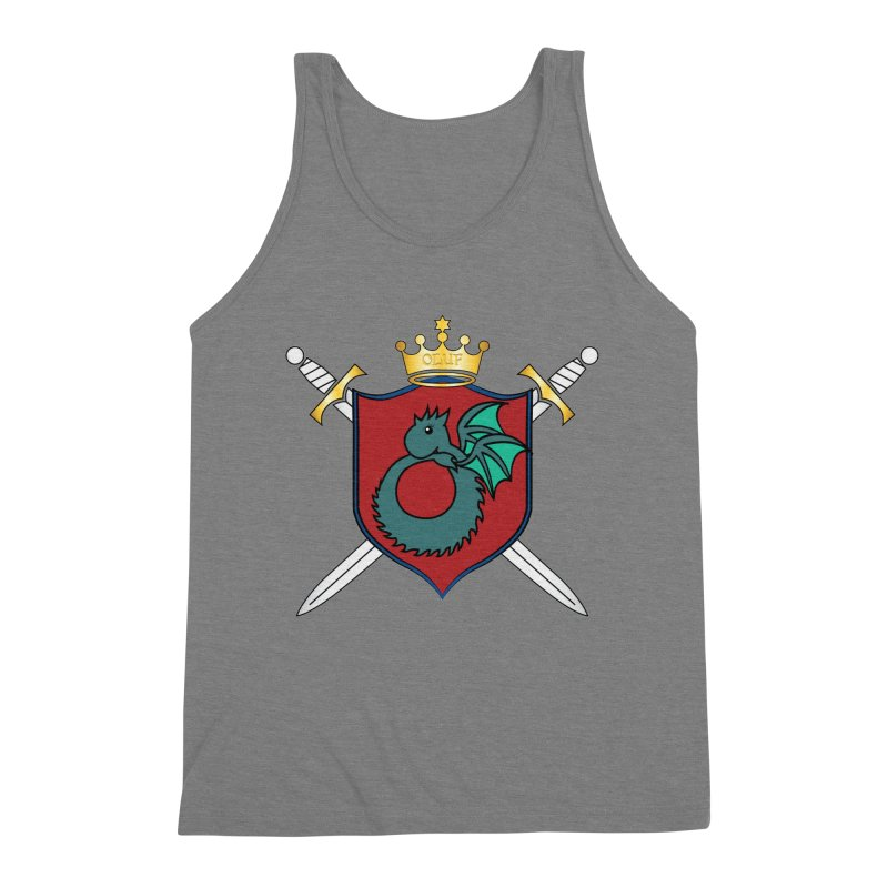 OLUF Coat of Arms - No Banner and Shoes Men's Triblend Tank by SteampunkEngineer's Shop