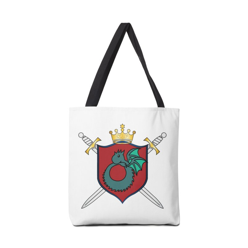 OLUF Coat of Arms - No Banner and Shoes Accessories Tote Bag Bag by SteampunkEngineer's Shop