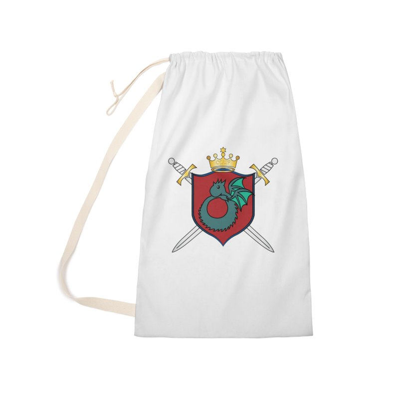OLUF Coat of Arms - No Banner and Shoes Accessories Laundry Bag Bag by SteampunkEngineer's Shop