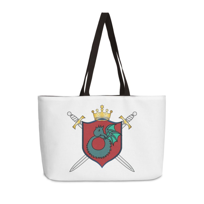 OLUF Coat of Arms - No Banner and Shoes Accessories Weekender Bag Bag by SteampunkEngineer's Shop