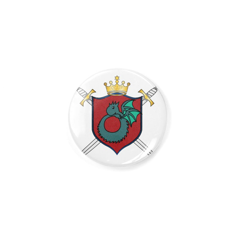 OLUF Coat of Arms - No Banner and Shoes Accessories Button by SteampunkEngineer's Shop