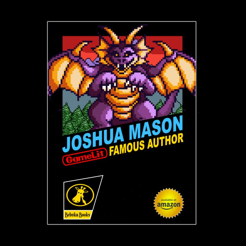 Joshua Mason, Famous Author by steamwhistlealley's Artist Shop