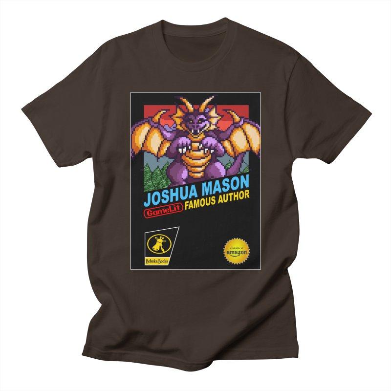 Joshua Mason, Famous Author Men's T-Shirt by steamwhistlealley's Artist Shop