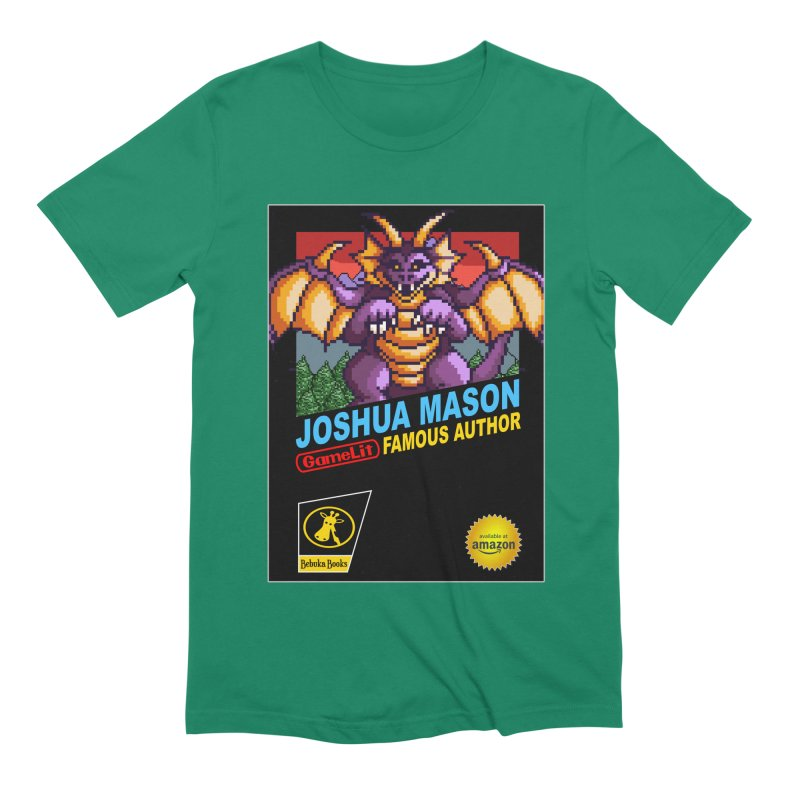 Joshua Mason, Famous Author Men's Extra Soft T-Shirt by steamwhistlealley's Artist Shop