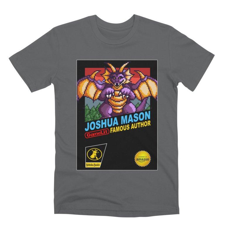 Joshua Mason, Famous Author Men's Premium T-Shirt by steamwhistlealley's Artist Shop