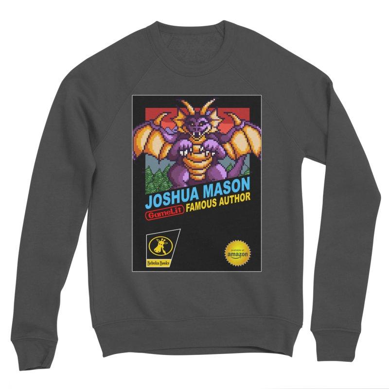 Joshua Mason, Famous Author Men's Sponge Fleece Sweatshirt by steamwhistlealley's Artist Shop