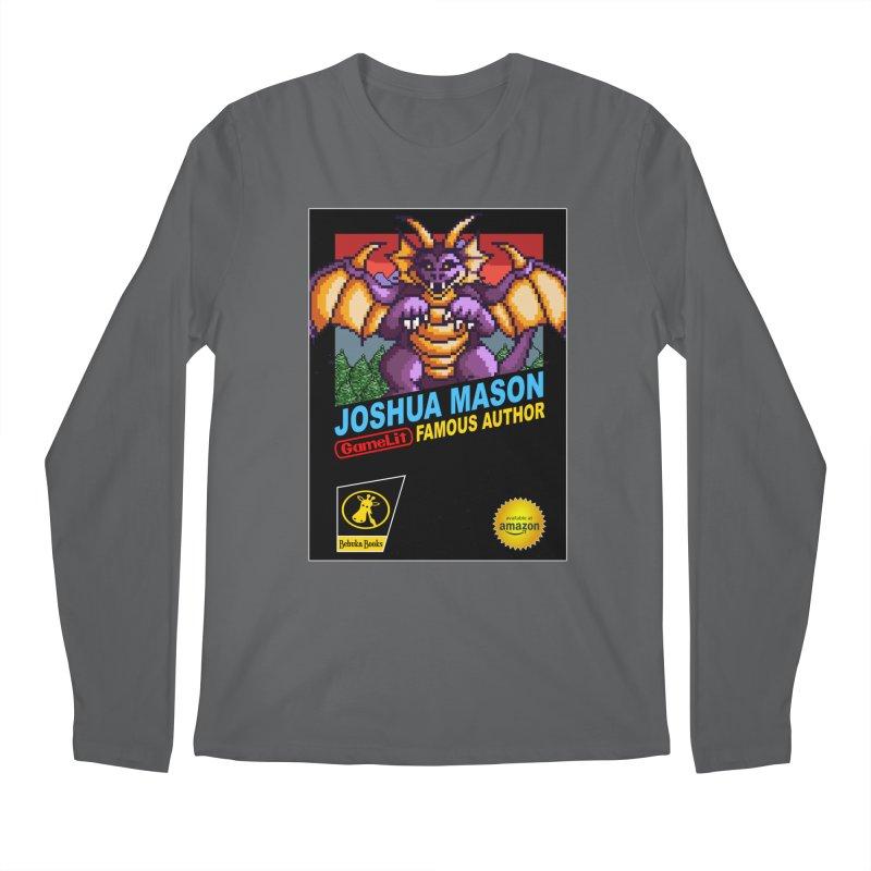 Joshua Mason, Famous Author Men's Longsleeve T-Shirt by steamwhistlealley's Artist Shop
