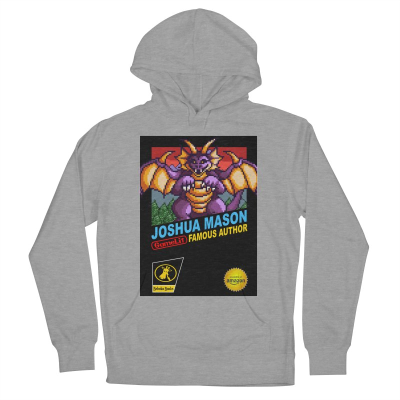 Joshua Mason, Famous Author Men's French Terry Pullover Hoody by steamwhistlealley's Artist Shop