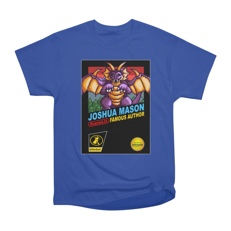 Joshua Mason, Famous Author Men's Heavyweight T-Shirt by steamwhistlealley's Artist Shop