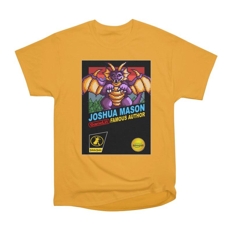Joshua Mason, Famous Author Women's Heavyweight Unisex T-Shirt by steamwhistlealley's Artist Shop