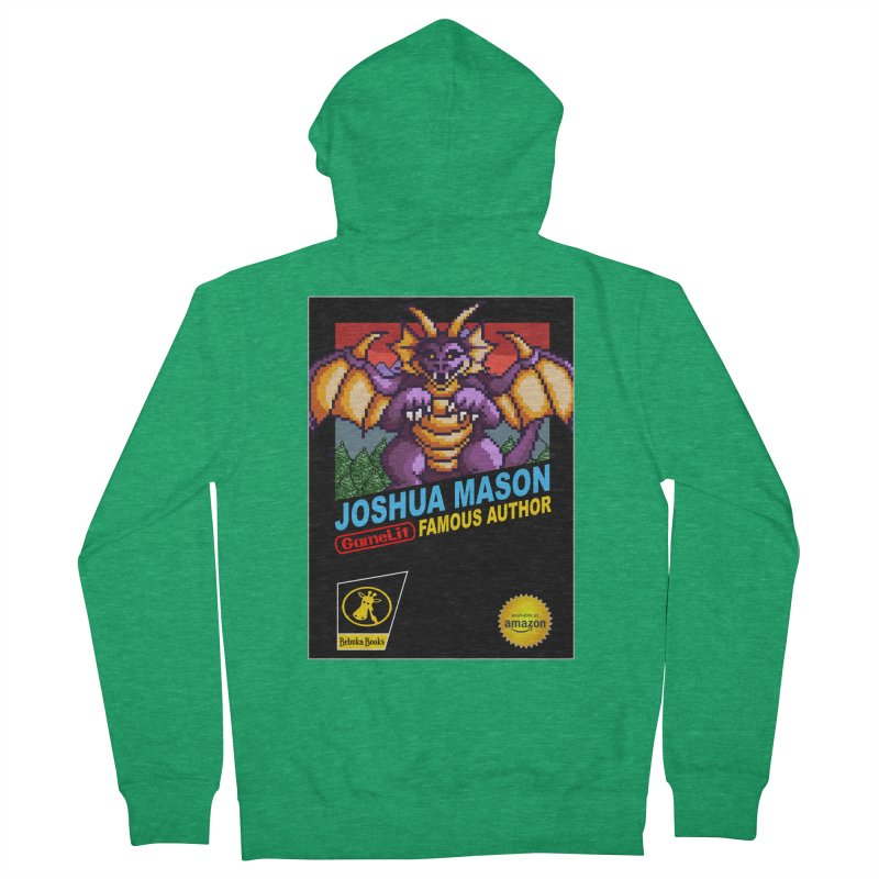 Joshua Mason, Famous Author Women's Zip-Up Hoody by steamwhistlealley's Artist Shop