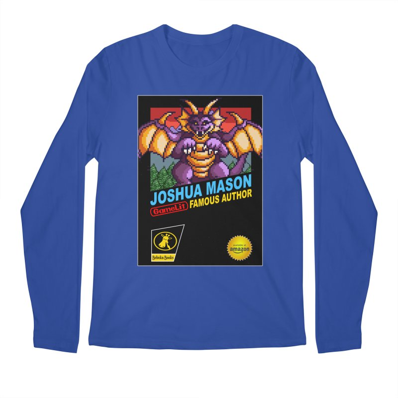 Joshua Mason, Famous Author Men's Regular Longsleeve T-Shirt by steamwhistlealley's Artist Shop