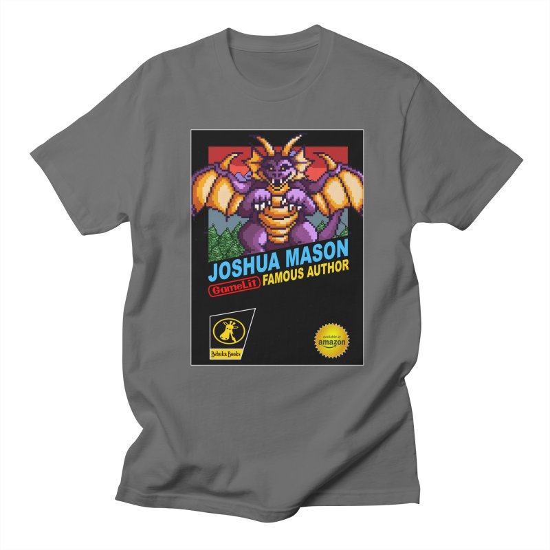 Joshua Mason, Famous Author Men's T-Shirt by steamwhistlealley's Artist Shop
