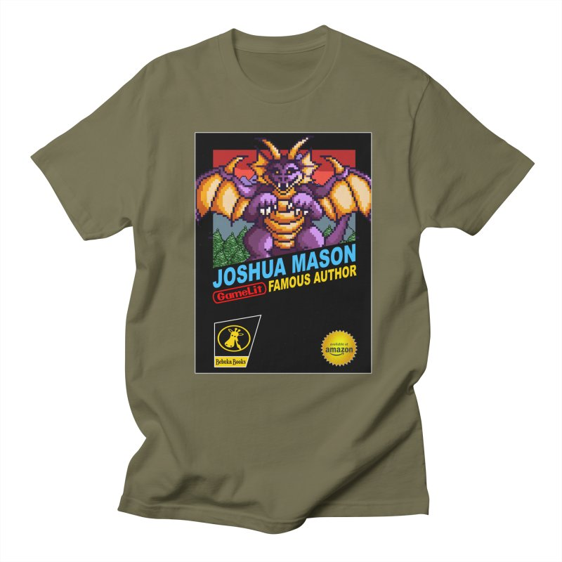 Joshua Mason, Famous Author Women's Regular Unisex T-Shirt by steamwhistlealley's Artist Shop