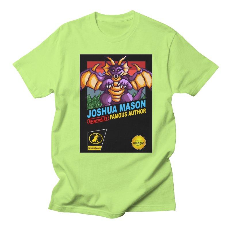 Joshua Mason, Famous Author Men's Regular T-Shirt by steamwhistlealley's Artist Shop