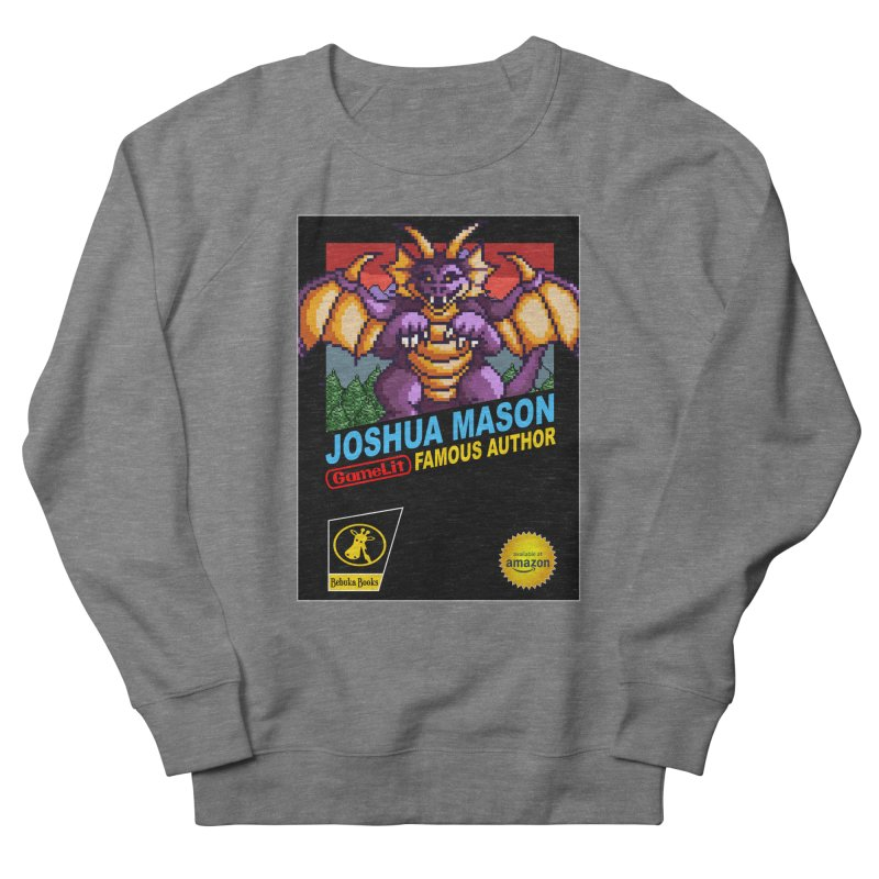 Joshua Mason, Famous Author Women's French Terry Sweatshirt by steamwhistlealley's Artist Shop