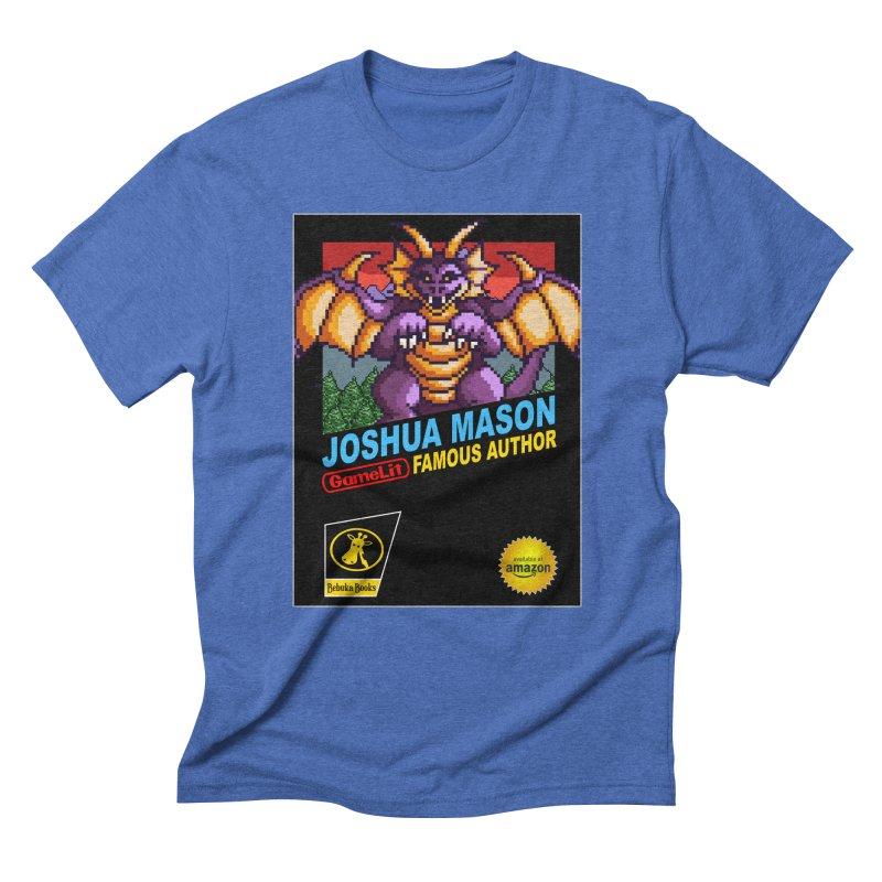 Joshua Mason, Famous Author Men's Triblend T-Shirt by steamwhistlealley's Artist Shop