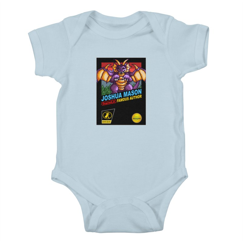 Joshua Mason, Famous Author Kids Baby Bodysuit by steamwhistlealley's Artist Shop
