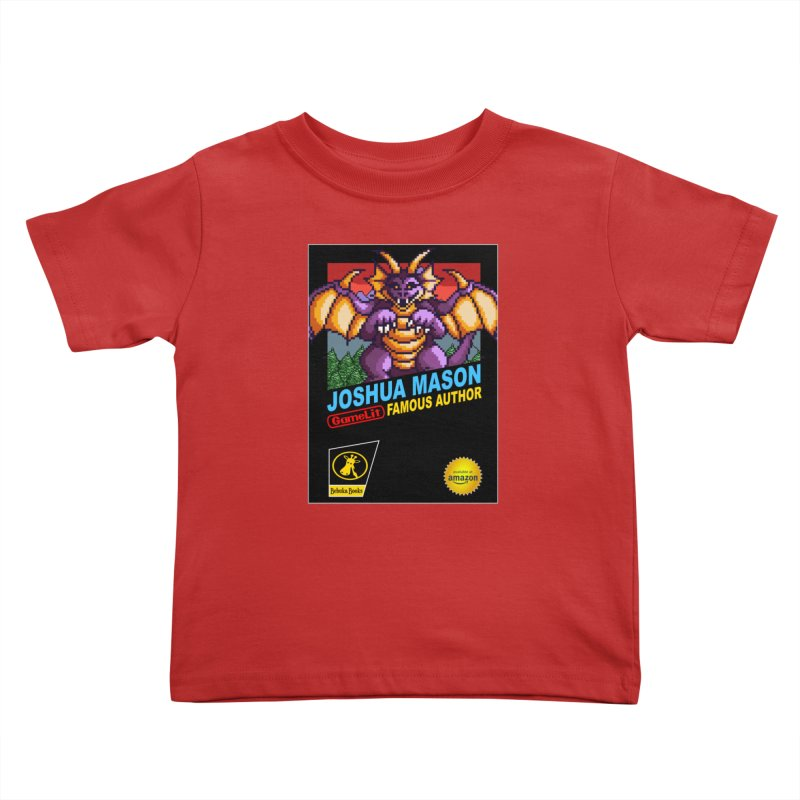 Joshua Mason, Famous Author Kids Toddler T-Shirt by steamwhistlealley's Artist Shop
