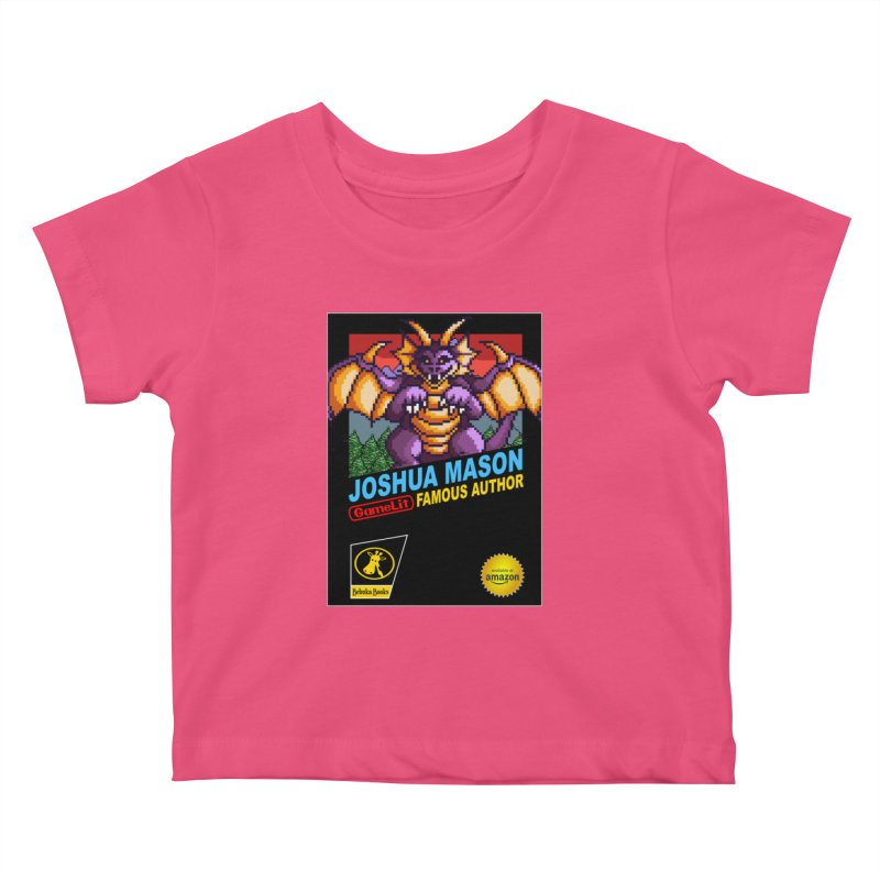 Joshua Mason, Famous Author Kids Baby T-Shirt by steamwhistlealley's Artist Shop
