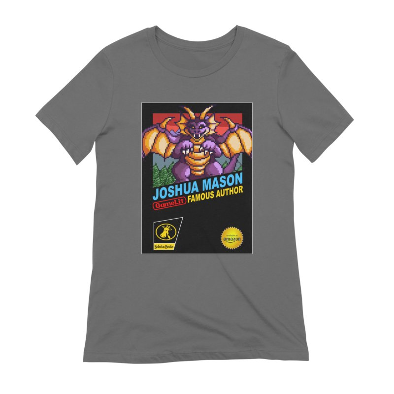 Joshua Mason, Famous Author Women's T-Shirt by steamwhistlealley's Artist Shop