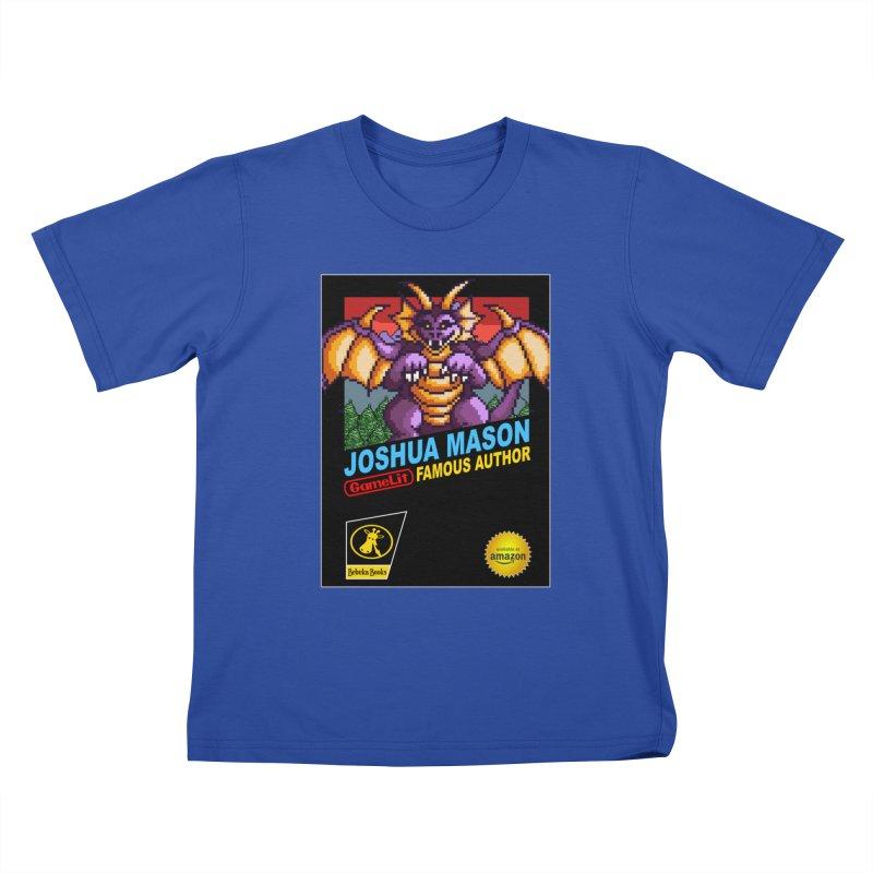 Joshua Mason, Famous Author Kids T-Shirt by steamwhistlealley's Artist Shop