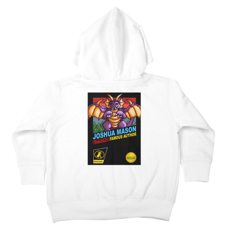 Joshua Mason, Famous Author Kids Toddler Zip-Up Hoody by steamwhistlealley's Artist Shop