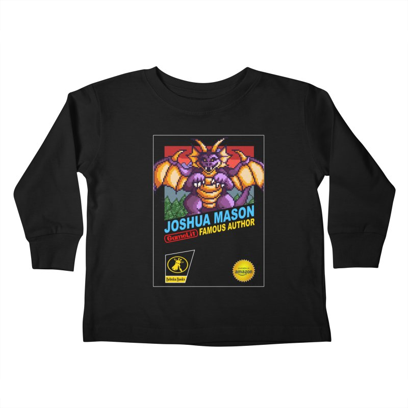 Joshua Mason, Famous Author Kids Toddler Longsleeve T-Shirt by steamwhistlealley's Artist Shop