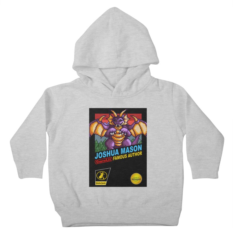 Joshua Mason, Famous Author Kids Toddler Pullover Hoody by steamwhistlealley's Artist Shop