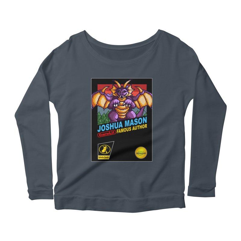 Joshua Mason, Famous Author Women's Scoop Neck Longsleeve T-Shirt by steamwhistlealley's Artist Shop