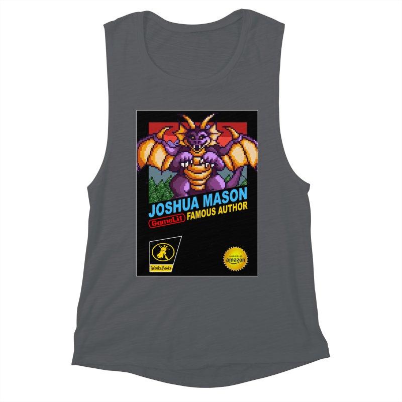 Joshua Mason, Famous Author Women's Muscle Tank by steamwhistlealley's Artist Shop