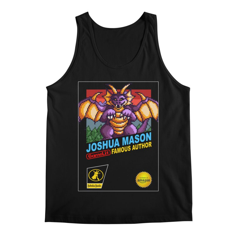 Joshua Mason, Famous Author Men's Regular Tank by steamwhistlealley's Artist Shop