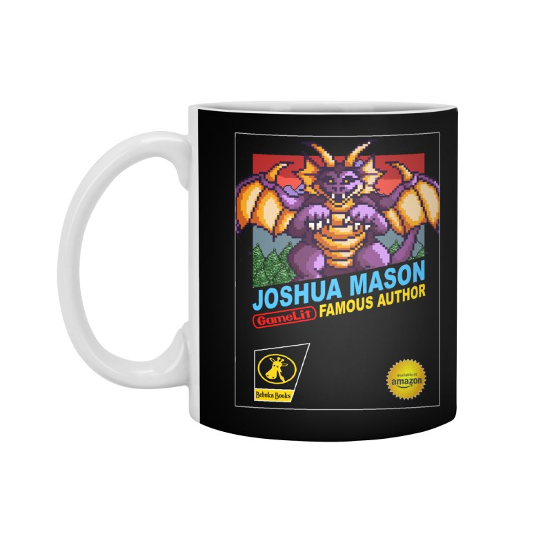 Joshua Mason, Famous Author Accessories Standard Mug by steamwhistlealley's Artist Shop