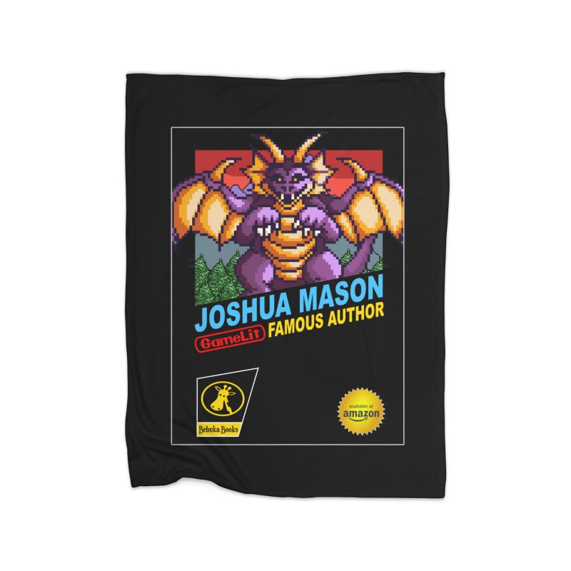 Joshua Mason, Famous Author Home Fleece Blanket Blanket by steamwhistlealley's Artist Shop