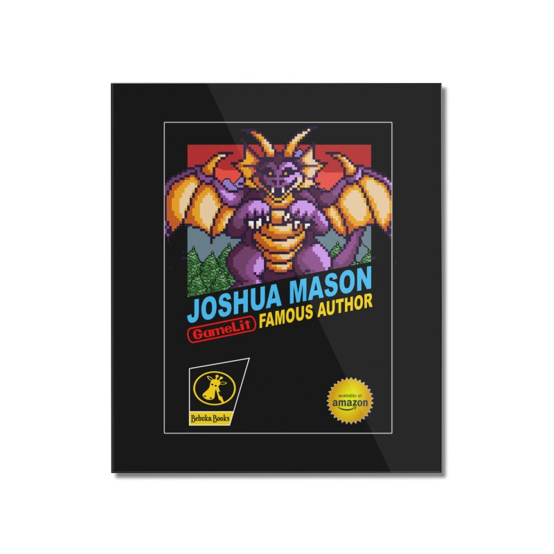 Joshua Mason, Famous Author Home Mounted Acrylic Print by steamwhistlealley's Artist Shop