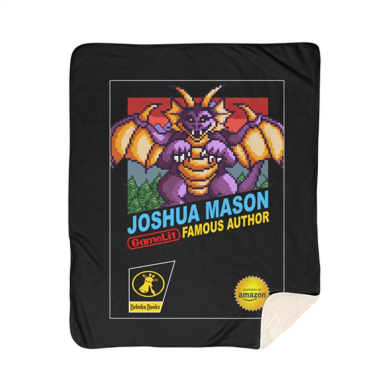 Joshua Mason, Famous Author Home Blanket by steamwhistlealley's Artist Shop